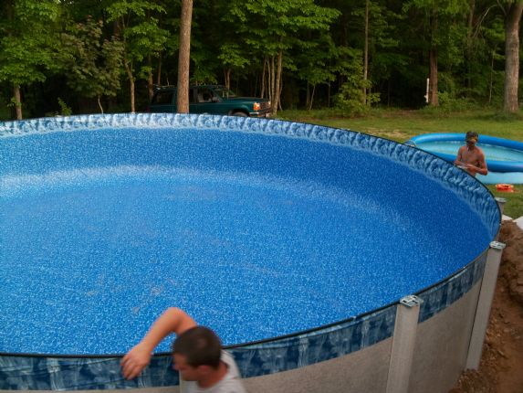 Above Ground Pools Photo Gallery